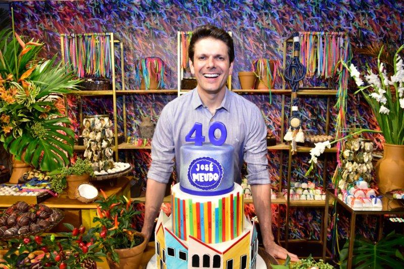 José Meudo Camarote 40 - José Meudo celebra a estreia nas quatro décadas com superfesta no Gran Marquise