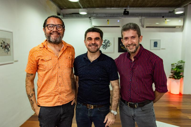 Lenildo Gomes, Isaac Furtado e Pedro Boaventura