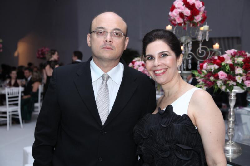 Adriano e Gena Fiuza