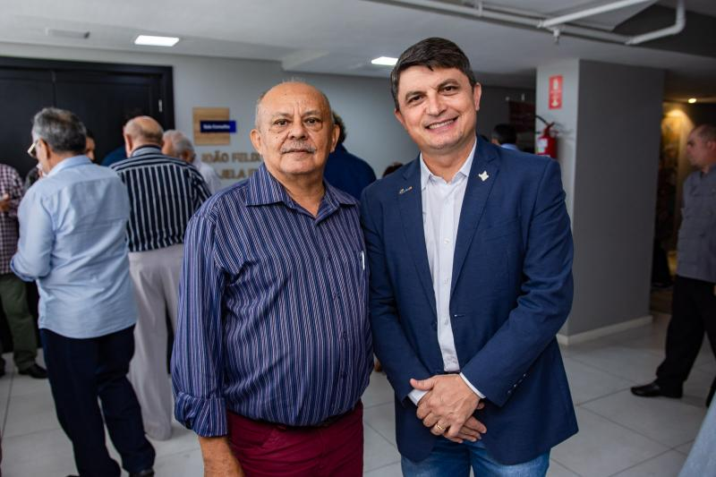 Alberto Pereira e Eliezir Viterbino