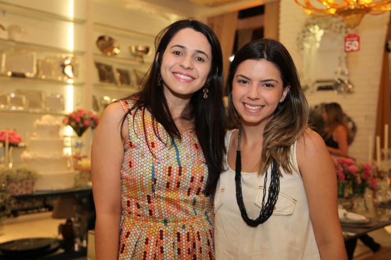 Meriane Borges e Marina Fernandes