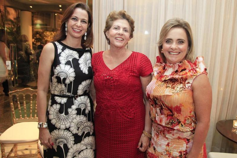 Larissa Queiroz, Germana Barbosa e Taciana Cortez