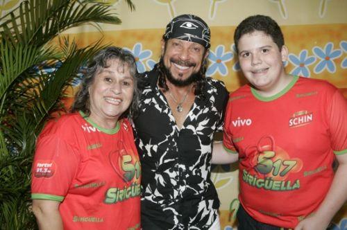 Angela Moraes Correia, Bell Marques e Luiz Claudio