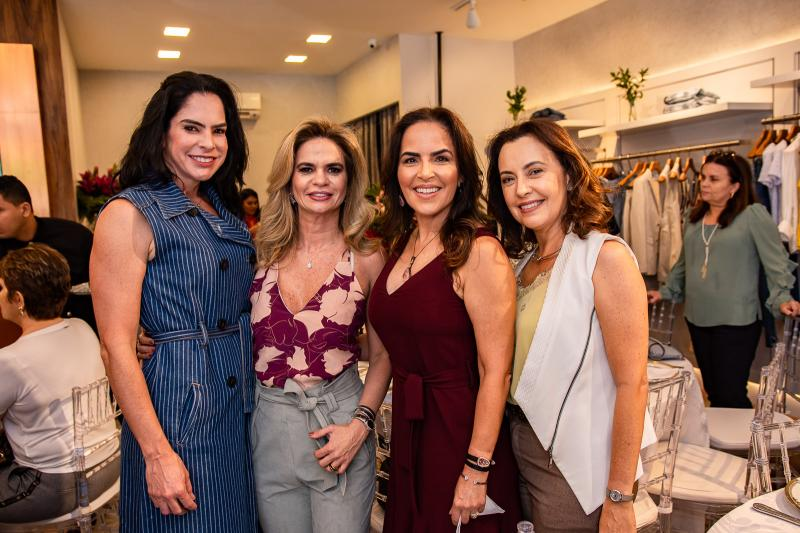 Gina Goncalves, Germana Cavalcante, Ana Maria Ximenes e Raquel Campelo