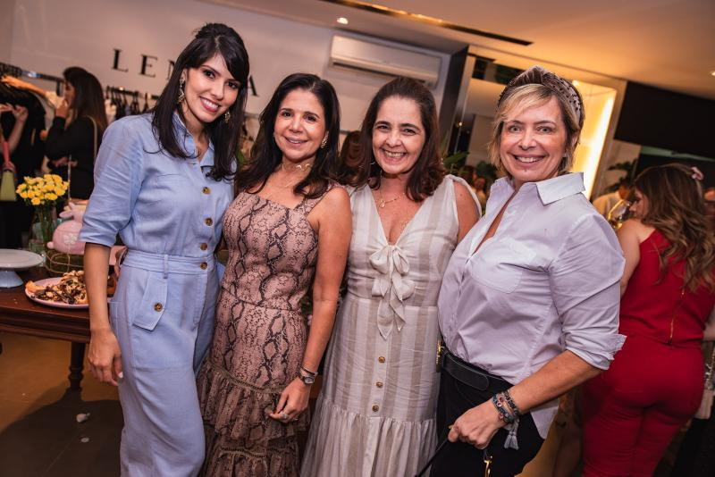 Flavia Laprovitera, Maria Lucia Negrao, Giana Studart e Andrea Fialho