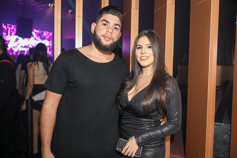 Lucas Ferreira e Lorena Melo