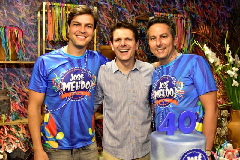 Valter Costa Lima, Jose Meudo e Ronaldo Costa Lima