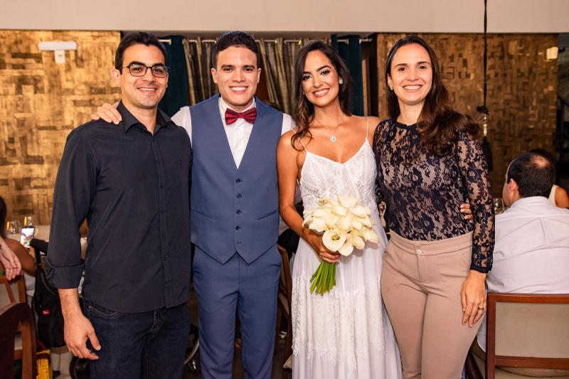 Matheus Borges, Marcos Lessa, Jeycielle Oliveira e Mariah Borges