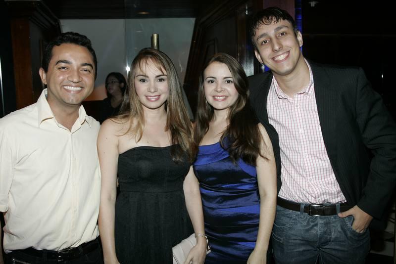 John Araujo, Arina e Andrea Xavier e Sameul Alcantara