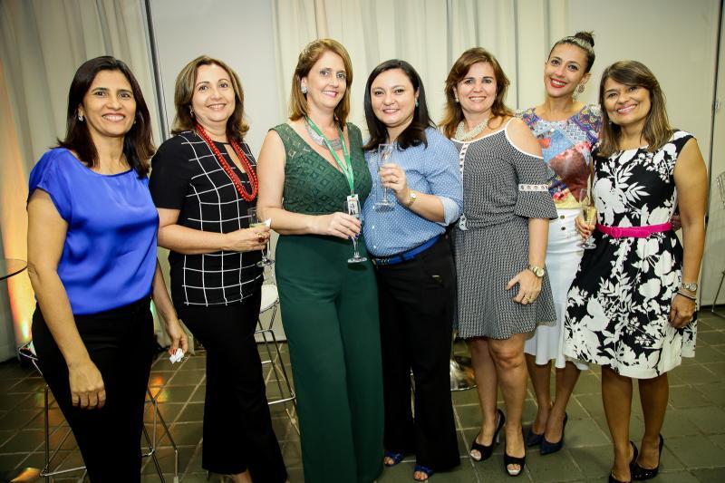 Marcia Ribeiro, Simone Melo, Waleska Braga, Carla Carvalho, Edna Cintia, Taina de Castro Alves e Marcia Zenoteli