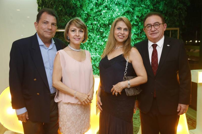 Fernando Castro Alves, Circe Jane, Morgana e Manuel Linhares
