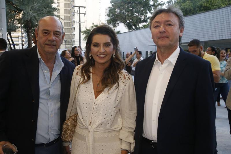 Fernando e Marcia Travessoni e Mauricio Filizola
