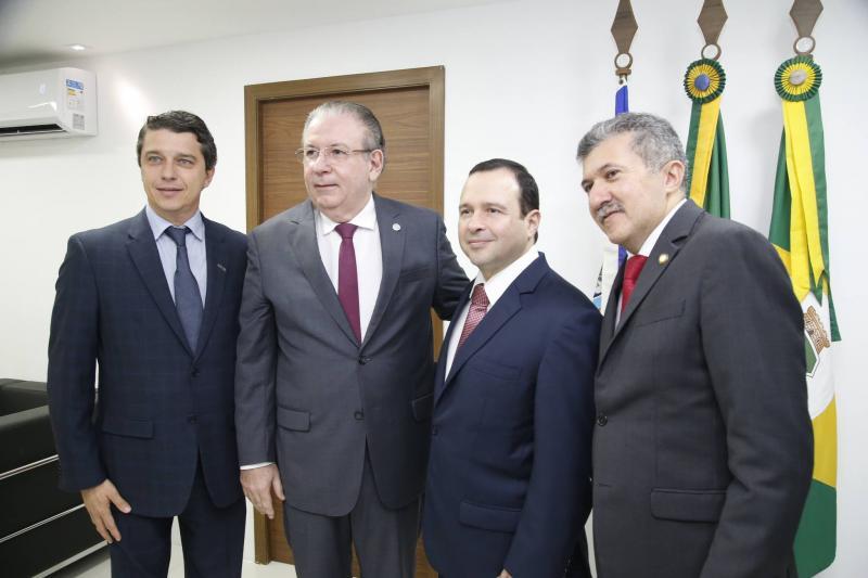 Andre Siqueira, Ricardo Cavalcante, Igor Barroso e Antonio Henrique