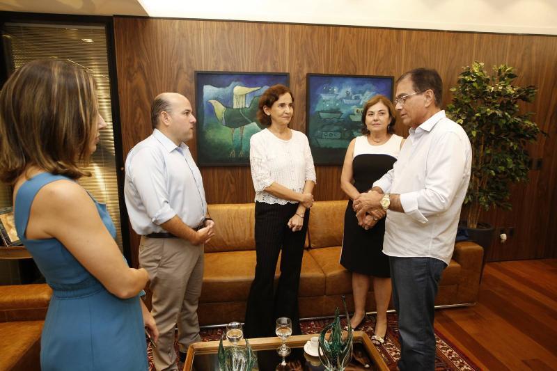 Carol Bezerra e Roberto Claudio, Izolda Cela, Ana Maria e Beto Studart