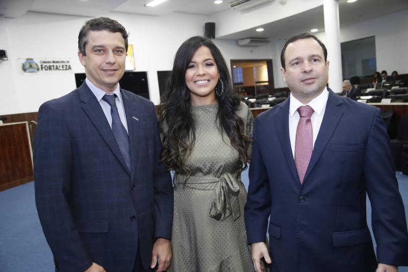 Andre Siqueira, Priscila Costa e Igor Barroso 2