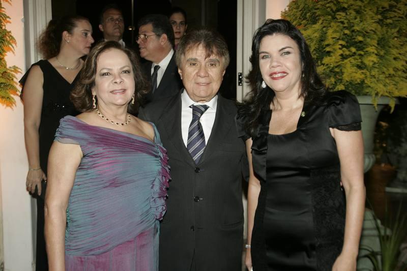 Nadia e Jorge Parente e Ana Juacaba
