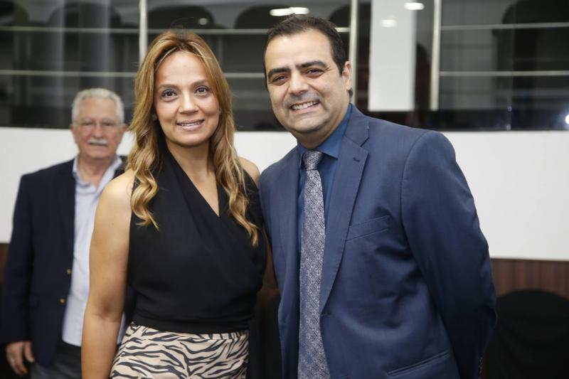 Cristina Tavares e Paulo Lobao
