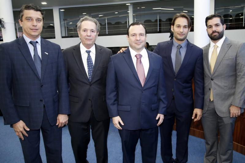 Andre Siqueira, Claudio Rocha, Igor Barroso, Claudinho e Felipe Rocha