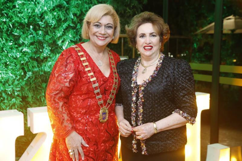 Priscila Cavalcante e Leda Maria
