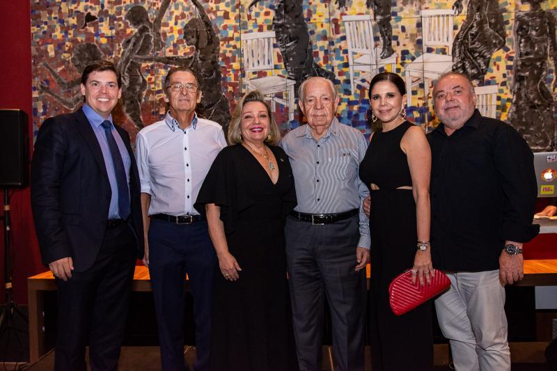 Leonardo Jensen, Jens Jensen, Fernanda Carapeba Jensen, Paulo Carapeba, Maria Lucia Negrao e Pedro Carapeba