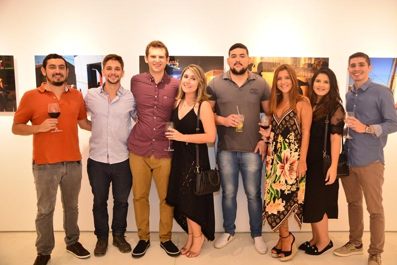 Matheus Bechara, Roger Cavalcante, Pablo Guedes, Beatriz Barros, Thiago Farias, Lia Conde, Gabriela Rocha e Vinicius Elias
