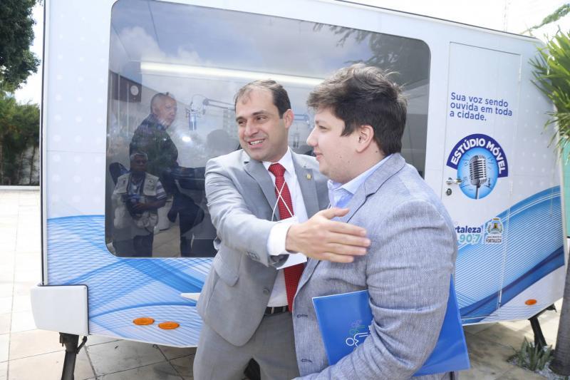 Salmito Filho e Matheus Luca