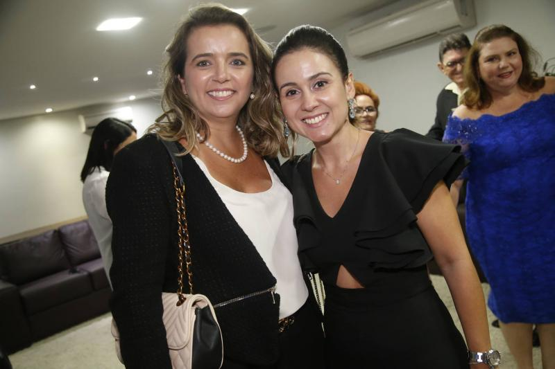 Renata Vasconcelos e Claudiana Leitao