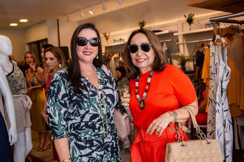 Jaqueline Turbay e Isabel Sousa