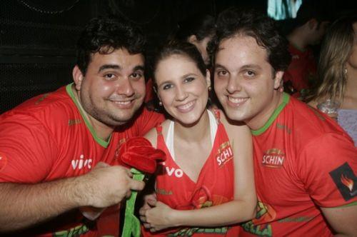 Joao Meneleu, Ana Paula Rocha e Daniel Aragao