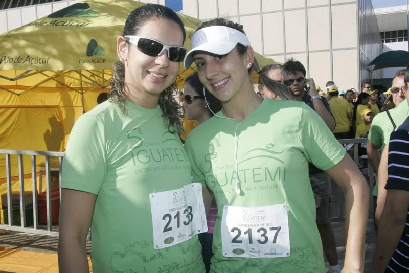 Andrea Patricio e Vanessa Ribeiro