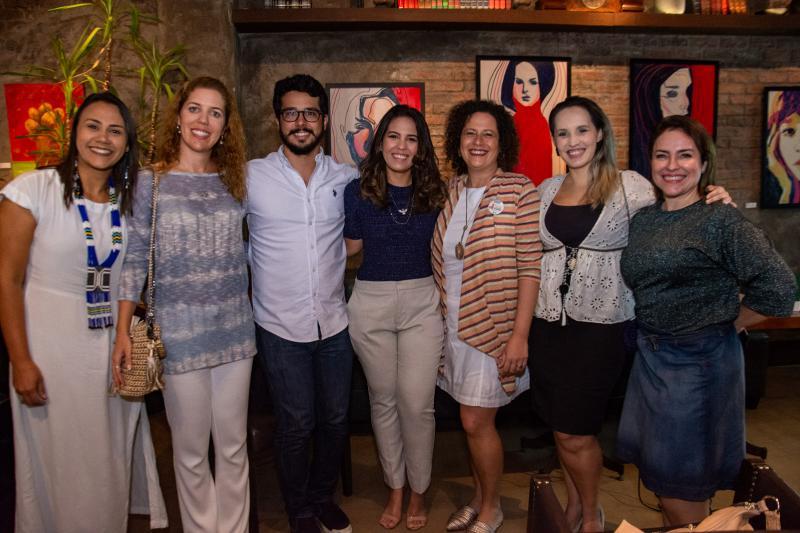 Natalia Martins,Ticiana Rolim Queiroz, Rafael Fujita, Marcela Abreu, Liana Feingold e Priscilla Veras