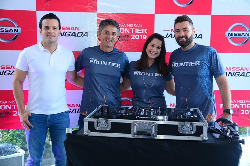 Bruno Sombra, Ricardo Macial, Pauline Ramos, DJ Davi Fernandez