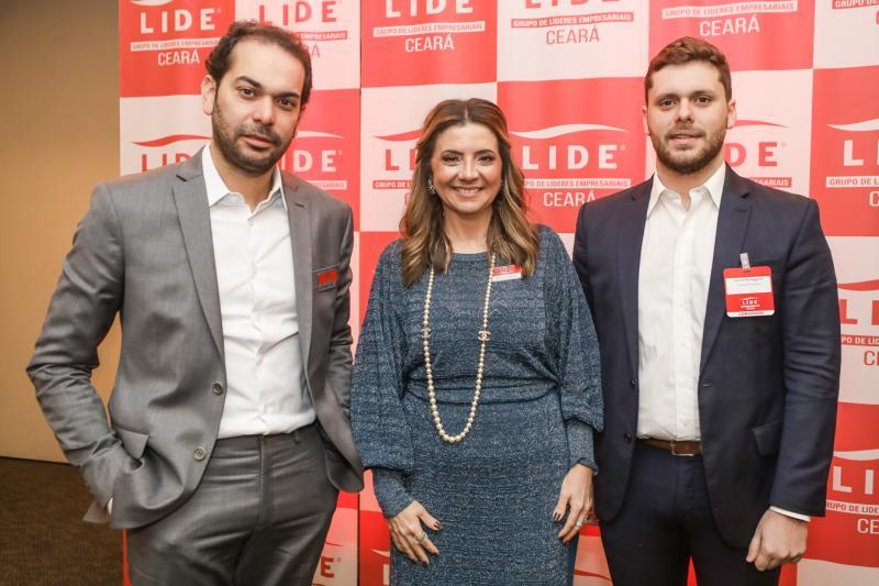 Claudio Vale, Emilia Buarque e Victor Perlingeiro