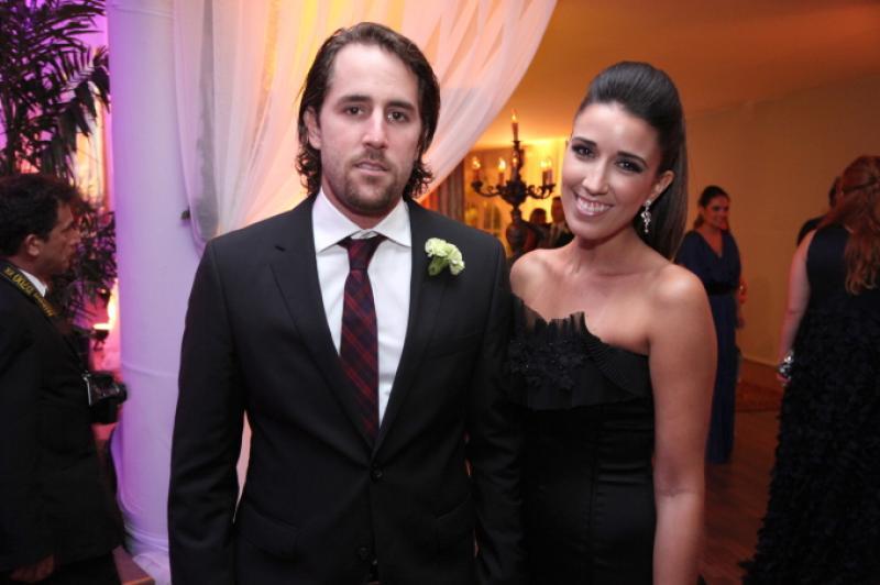 Rodrigo Frota e Mariana Lima