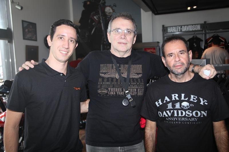 Rafael Brito, Nilton Bastos e Cristiano Mapurunga