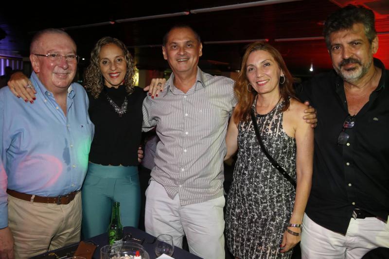 Valmir Pontes, Eunir Saker, Roberto Araujo, Cecilia Montenegro e Carlos Mendonca