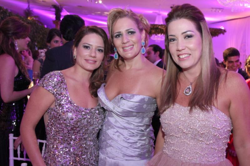 Renata Vale, Marcia Peixoto e Ana Vladia Sales