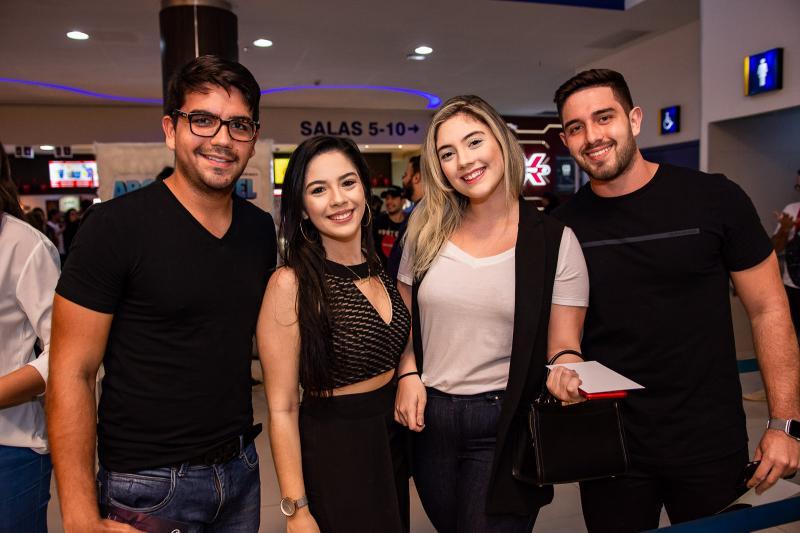 Matheus Chaves, Amanda Cavalcante, Caroline Rios e Joao Victor