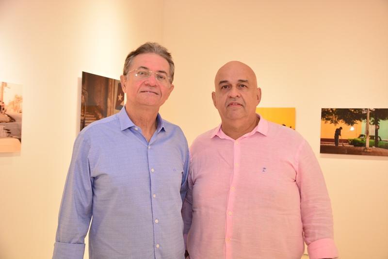 Rigoberto Tavares e Claudio Milerio