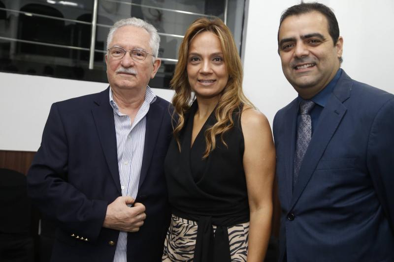 Henrique Sergio Abreu, Cristina Tavares e Paulo Lobao