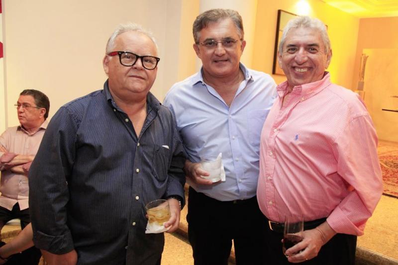 Tarcisio Morais, Alberto Cysne e Antonio dos Santos