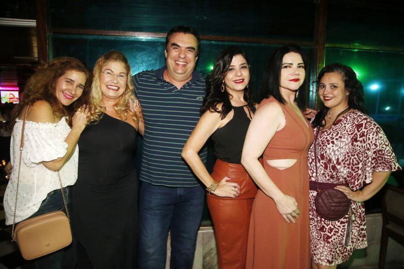Wladia Maislova, Stelinha Salles, Claudio Ary, Samira Suleiman, Marta Studart e Danielli Diniz