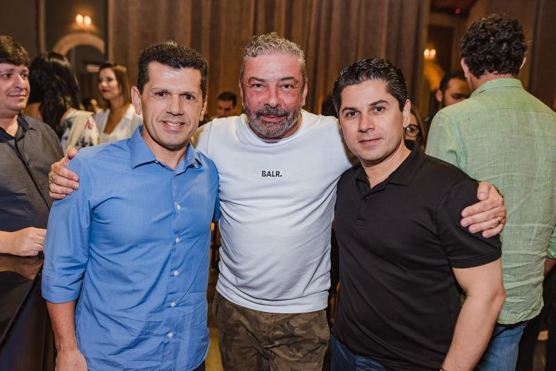 Erick Vasconcelos, Claudio Silveira e Pompeu Vasconcelos