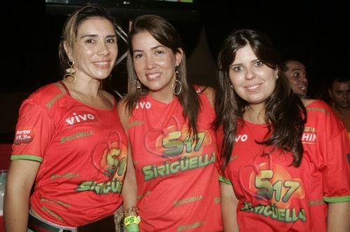 Anne Alcantara, Ana Vladia e Marina Bastos