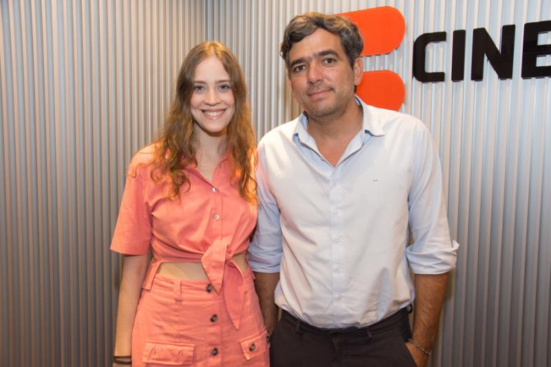 Priscila Bonorandi e Marcelo Franco