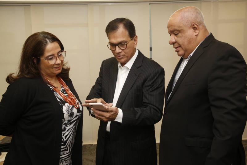 Ana Maria, Beto Studart e Pedro Alfredo