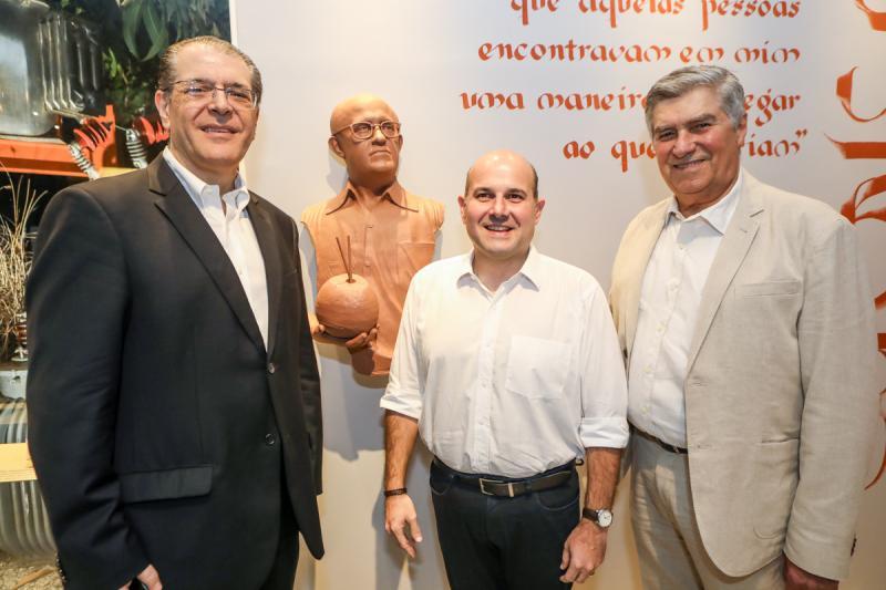 Walter Farias, Roberto Claudio e Amarilio Macedo