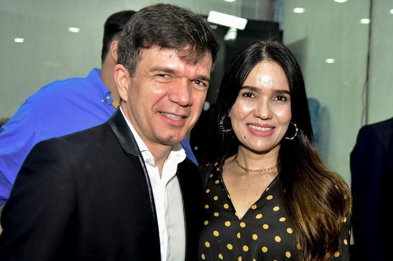 Waldonys e Luciana Menezes