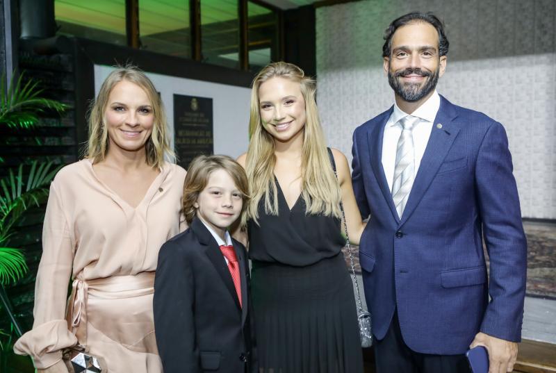 Leticia, Rafael, Duda e Deda Studart