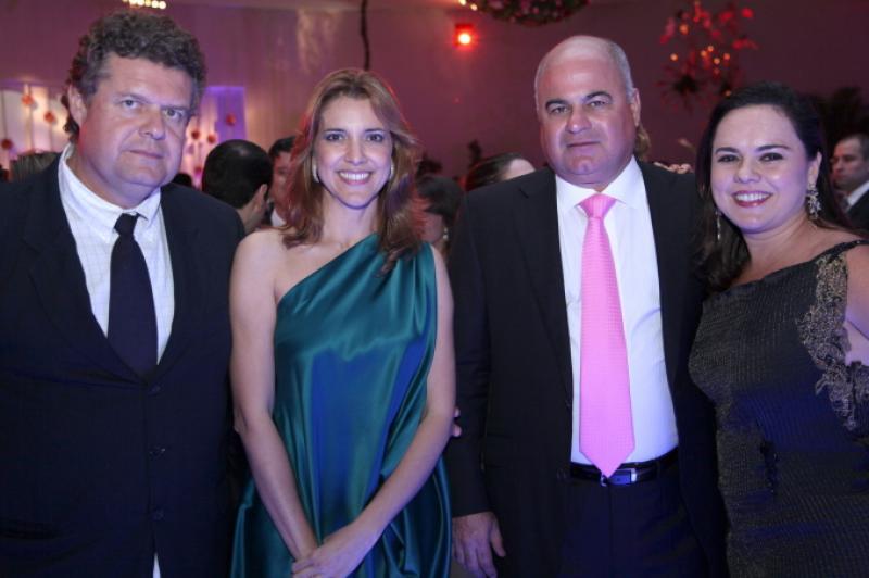 Evandro e Elisiane Colares, Luciano e Denise Cavalcante